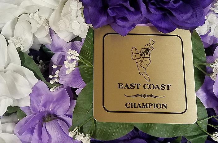 ECAHS Achievement Awards at East Coast Championships